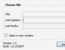 Insert File Plugin Options