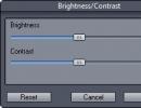 Brightness/Contrast