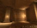 Inside a pyramid