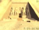 A pyramid entrance