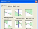 Shading feature for presentation.