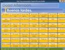 Spanish Phrases Buddy-Example of a greeting phrase