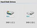 Thumbnail view of drives