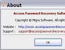 About Access Password Recovery Software