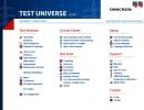 Test Universe Start Page