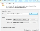 Fast PDF creation