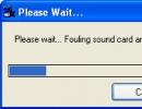 Fake SoundCard \