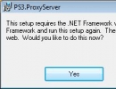 It requires net framework 1.1