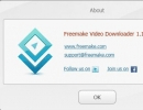 About Freemake Video Downloader