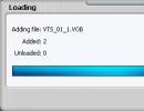 Extracting video.