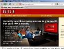Netflix webpage