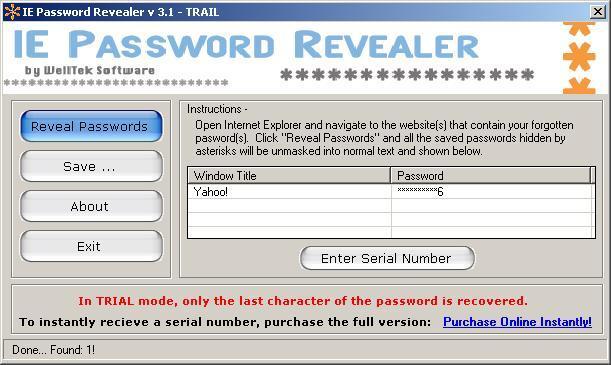 Password Detected