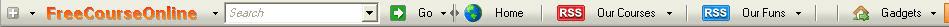 freecourseonline Toolbar