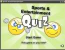 Sports and Entertainment Quiz-Splash Screen