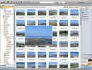 The main window shows useful thumbnails of the images.