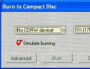 Built-in CD Burner