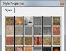 Style Properties