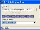 Files to Split