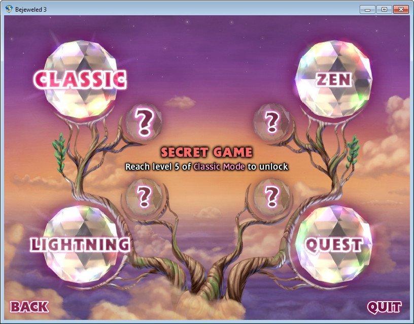 Game Mode Selection