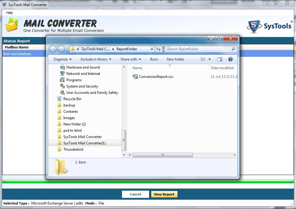 Advanced Mail Converter