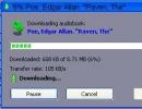 Downloading audiobook
