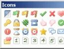 Node icons