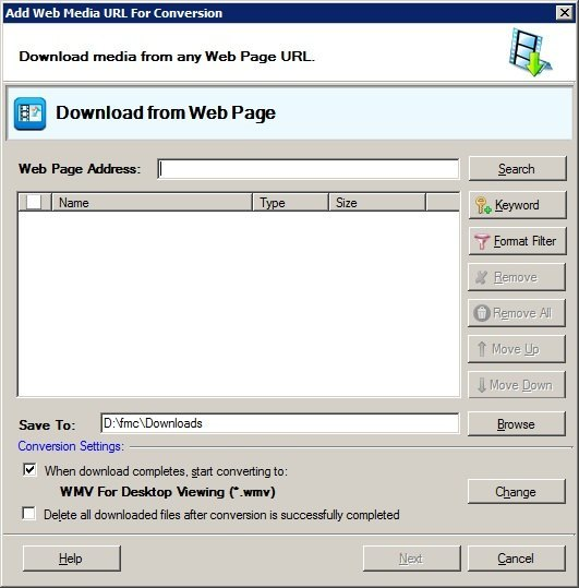 Download From the Web