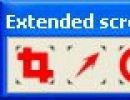 xScreenshot tool bar