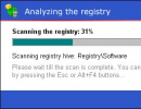 Registry analysis