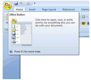 Office Button