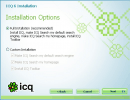 ICQ Installation Options