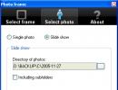 Select Photo Option
