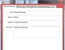 Information Input