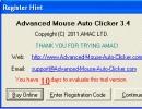 Startup Screen (Register...)