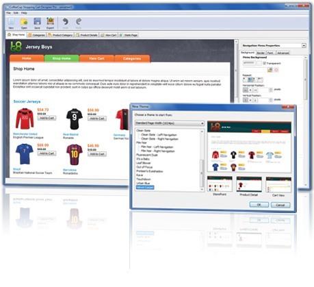 CoffeeCup Shopping Cart Designer Pro