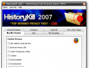 Main window, with Mozilla Firefox options