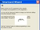 Smart card wizard