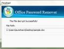 iSunshare Office Password Remover Screenshot