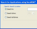 Search For Applications Window