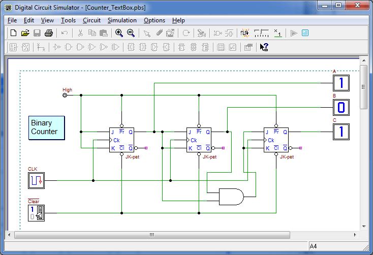 d-DcS Digital Circuit Simulator