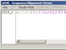 Sequence or alignment viewer
