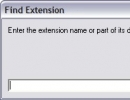 Find extension