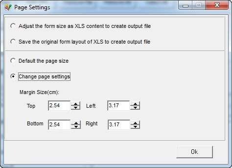 Page Settings