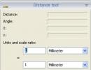 Distance tool