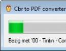 Converting CBR