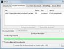 Recent Downloads Window.