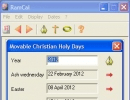 Movable Christian Holy Days