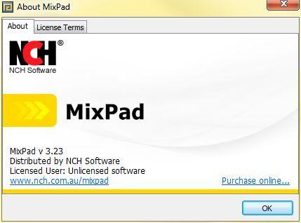 About MixPad