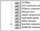 Customizable set of codecs.