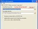 Single File Conversion